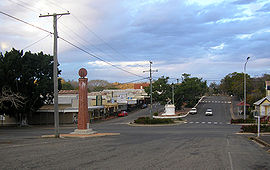 Mt Morgan Town